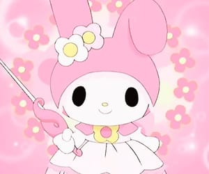 fairy, my melody, and pink image