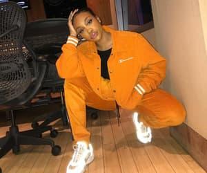 sza, glow, and orange image