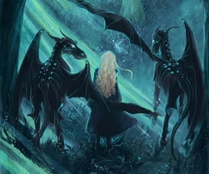harry potter, luna lovegood, and thestral image
