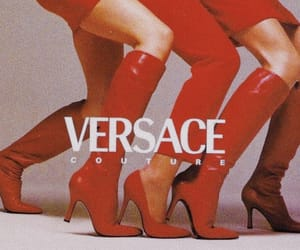 fashion, Versace, and heels image