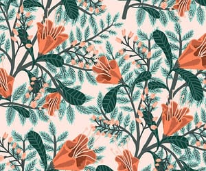 background, floral, and flowery image