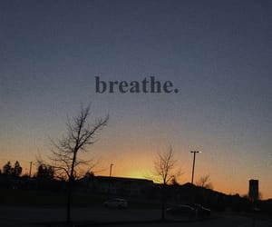 aesthetic, wallpaper, and breathe image