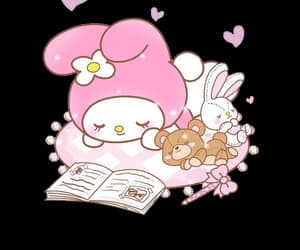 edit, my melody, and sanrio image
