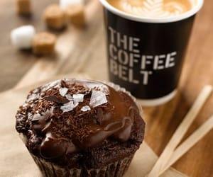 coffee, cupcake, and chocolate image