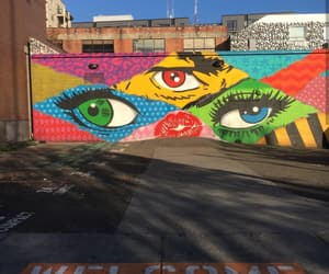 art, eyes, and Out there image