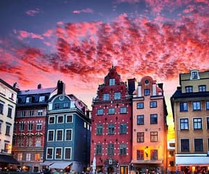 travel, sky, and sweden image