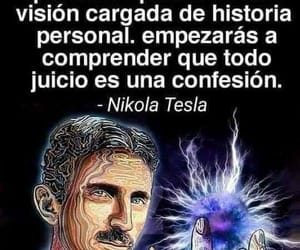 nikola tesla, quotes, and frases image