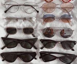 sunglasses, grunge, and black image