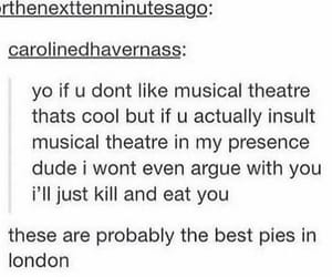 broadway, funny, and musicals image
