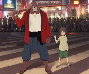 anime, the boy and the beast, and anime list image