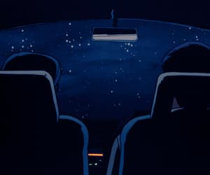 aesthetic, car, and stars image