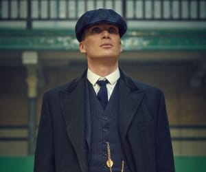 cillian murphy, peaky blinders, and thomas shelby image