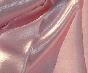 pink, aesthetic, and silk image
