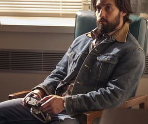 Milo Ventimiglia, this is us, and jack pearson image