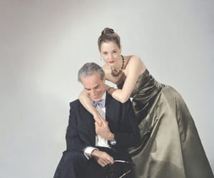 vicky krieps, phantom thread, and Daniel Day-Lewis image