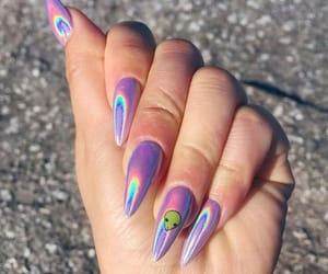 nails and alien image