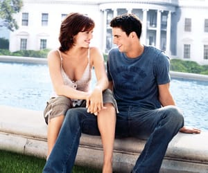 chasing liberty, mandy moore, and matthew goode image