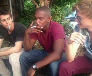 the maze runner, dylan o'brien, and thomas sangster image