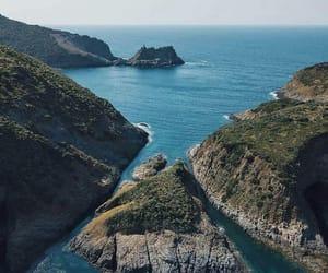 sea, Algeria, and mountains image