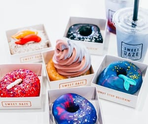 donuts, yummy, and sweet image
