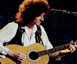 Freddie Mercury, brian may, and gif image