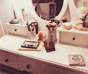 decor, make up, and style image