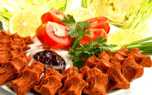 food and çiğ köfte image