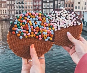 aesthetic, amsterdam, and chocolate image