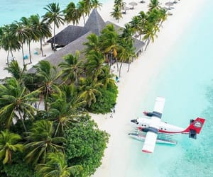 Maldives, summer, and travel image