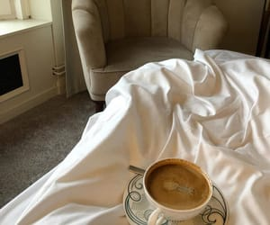 bed and coffee image