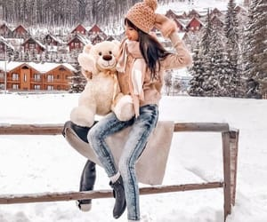 adventure, beauty, and winter image