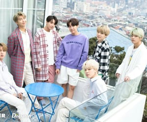 jin, bts, and jhope image