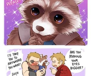 quill, rocket, and cute image