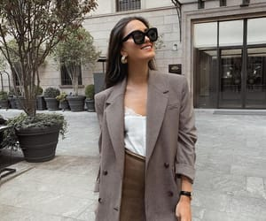 accesories, street style, and blazer image