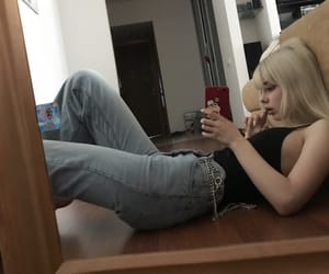 blonde and tumblr image