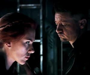 Avengers, hawkeye, and black widow image