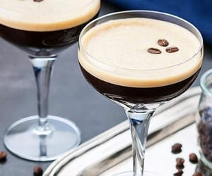 cocktail, coffee, and drinks image