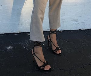 beige, black, and boho image