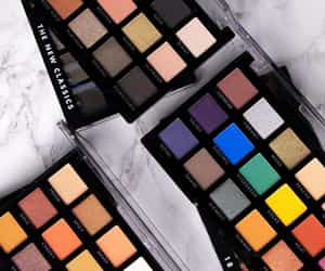 eyeshadow, make up, and palette image