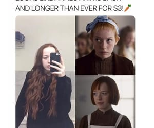 anne shirley, amybeth mcnulty, and pretty image