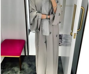 hijab, abaya, and style image