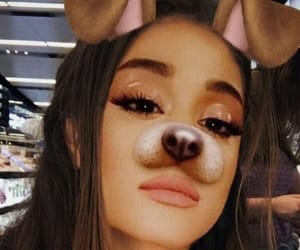 ariana grande, filter, and icon image