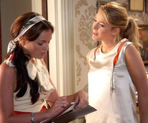 gossip girl, blair waldorf, and blair and serena image