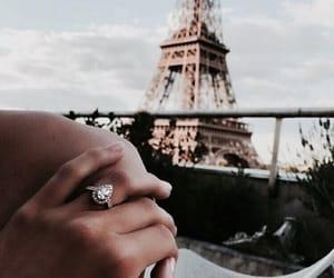 paris, ring, and travel image
