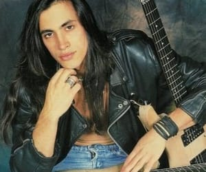 extreme, long hair, and guitarist image