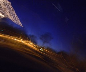 beautiful, blurry, and car image
