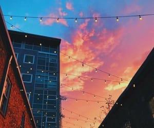 aesthetics, skyline, and sunset image