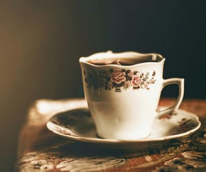 vintage, coffee, and tea image