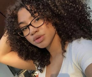 curly, curly hair, and girls image