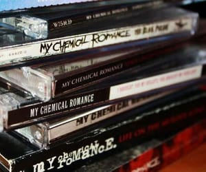 my chemical romance, cd, and mcr image